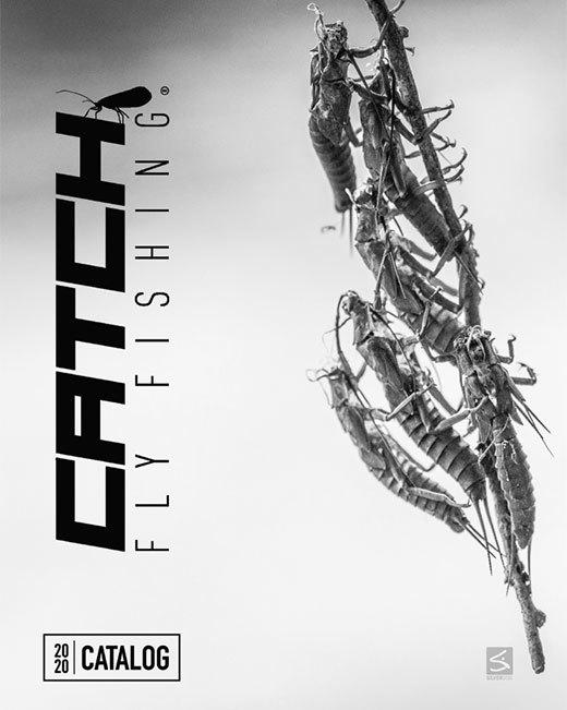 Catch Fly Fishing 2020 catalog front cover black and white
